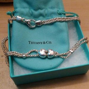 🌾Tiffany&co Vintage Double Hearts Necklace